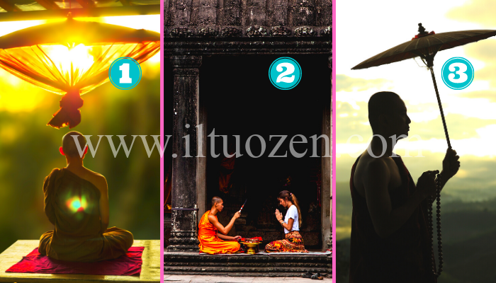 Se vuoi guarire le tue ferite, scegli un'immagine buddista e ti daremo un profondo consiglio