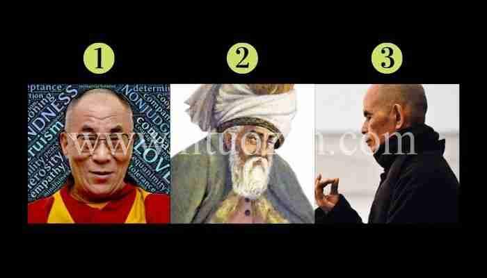 Questi grandi MAESTRI vorrebbero darti un consiglio. Quale scegli?
