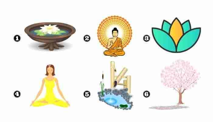 Scegli un'immagine spirituale e ricevi un messaggio di serenità