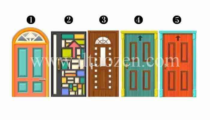 In quale porta vorresti entrare? Riceverai un potente consiglio