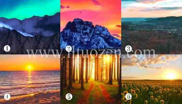 Scegli un paesaggio e riceverai un potente augurio guaritore
