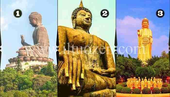 Scegli un Buddha tra questi 3 e leggi il tuo messaggio profetico
