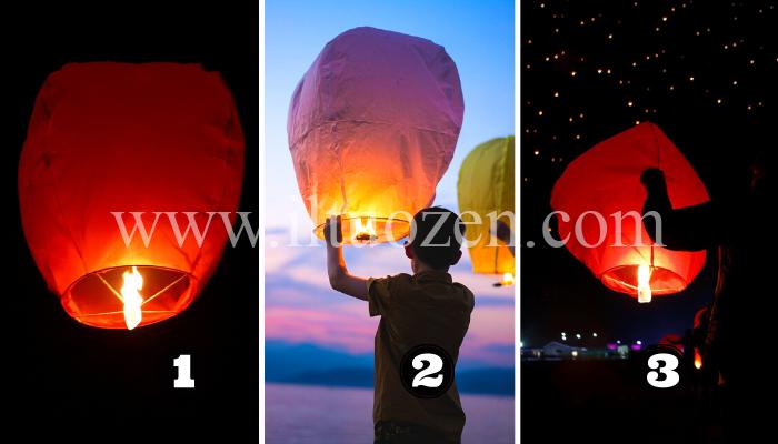 Scegli una lanterna vietnamita e scopri quale tuo desiderio si avvererà a breve