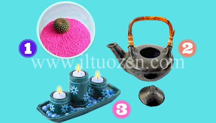 Quale elemento vorresti nel tuo giardino zen? Scegline uno e scopri come riempire il tuo vuoto interiore