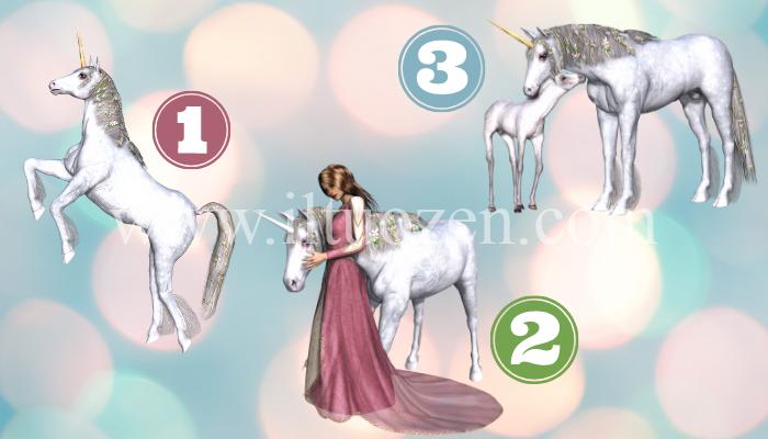 Scegli d'istinto un unicorno e leggi il tuo messaggio di immediata guarigione