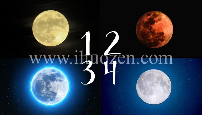 La notte porta consiglio. Scegli una luna piena e leggi il messaggio che ti toccherà il cuore