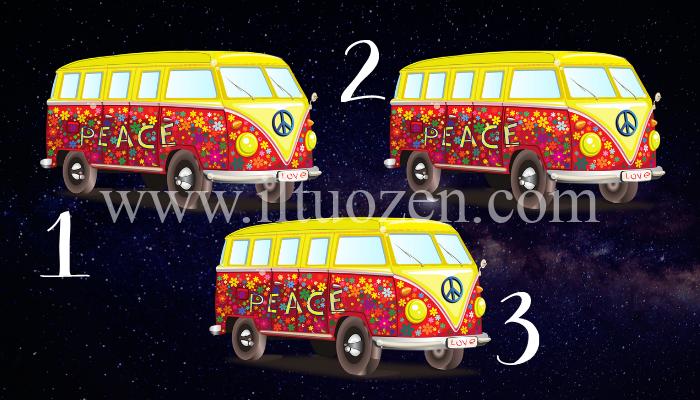 Pace e amore giungeranno presto nella tua vita. Scegli un bus e scopri quando arriverà il tuo momento: