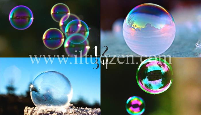 Scegli una di queste bolle di sapone ed esprimi un desiderio. A breve, una grossa novità piomberà nella tua vita: