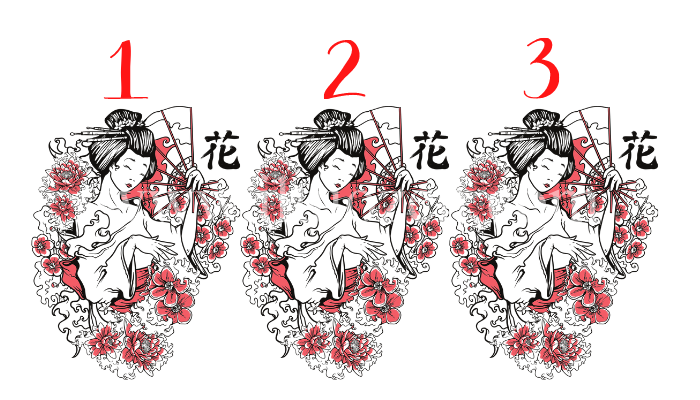 Scegli una geisha giapponese e ascolta le sue sagge parole: