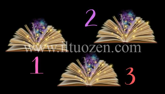 Scegli un libro magico e sfoglia le sue pagine. Ecco la frase chiave che illuminerà il tuo futuro