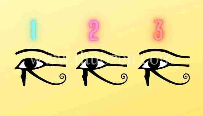 Scegli d'istinto un Occhio di Horus e ti dirò cosa fare per proteggerti dalla sciagura