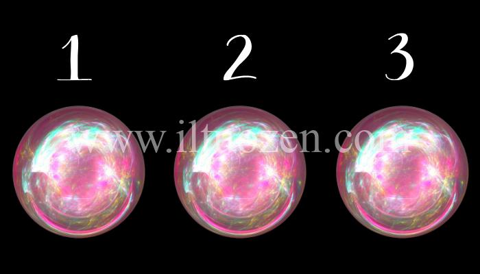 Scegli una sfera di cristallo e scopri cosa ti riserva il futuro