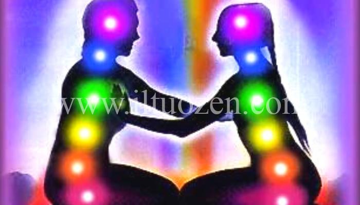 Il tuo corpo emana un'aura luminosa. Ecco come vederla