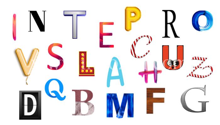 lettera dell'alfabeto